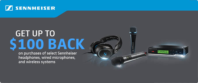 Sennheiser 2014 Rebates